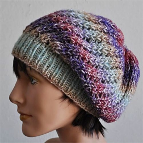 Beautiful Skills Crochet Knitting Quilting Treasure Slouch Hat