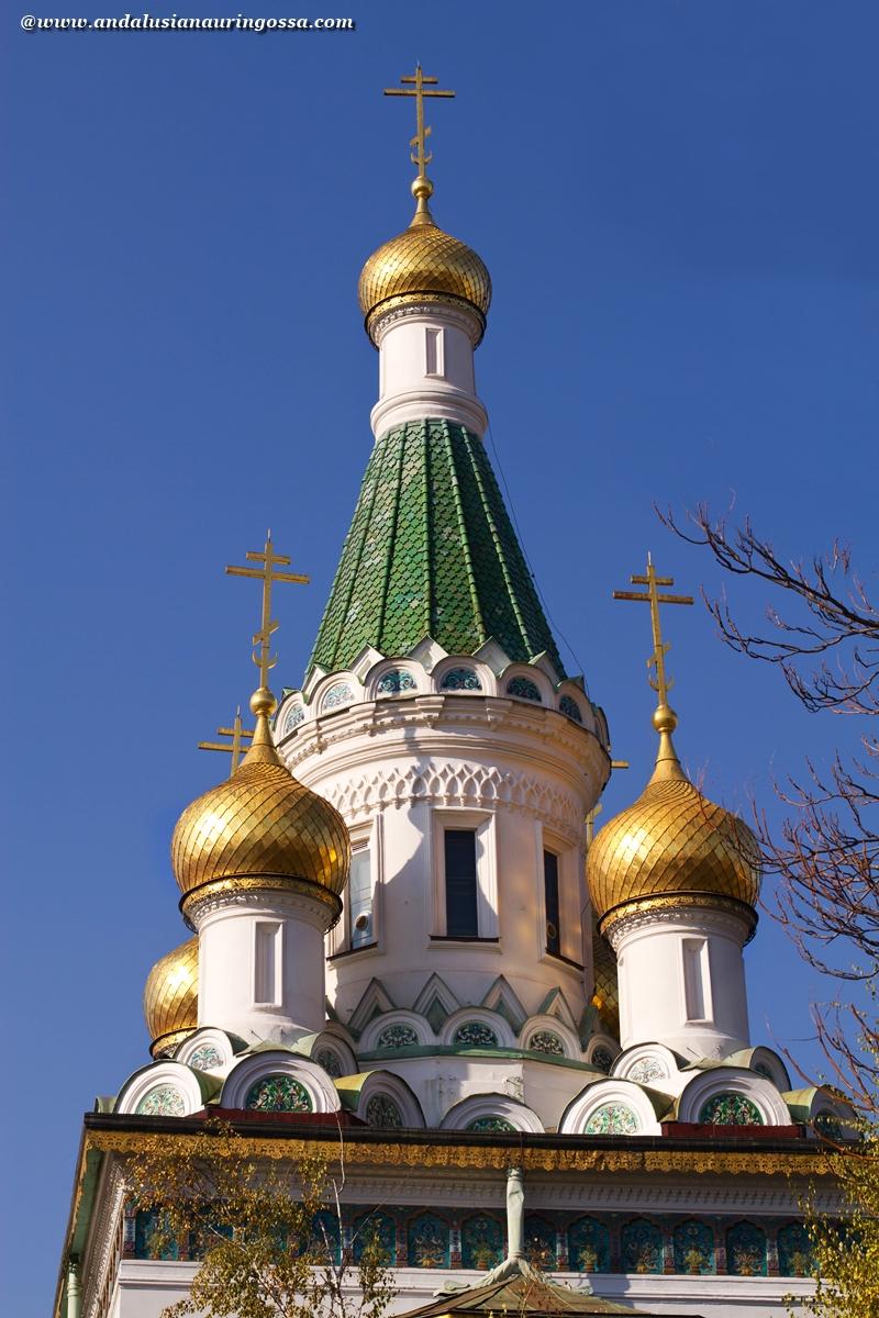 Sofia_Bulgaria_Pyhän Nikolain kirkko