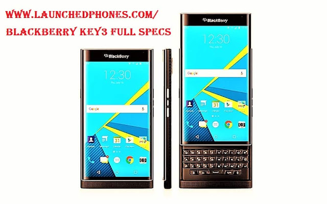 BlackBerry Key3 full specifications