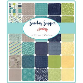 Moda Sunday Supper Fabric by Sweetwater for Moda Fabrics