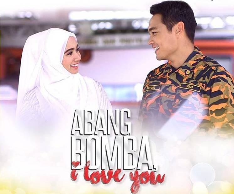 abang bomba i love you , sinopsis abang bomba i love you , pelakon abang bomba i love you