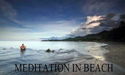 meditation in pemuteran beach