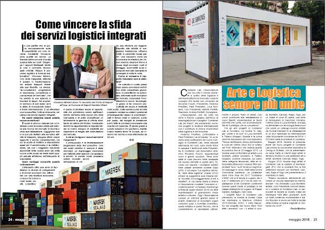 MAGGIO 2018 PAG 24 - Come vincere la sfida dei servizi logistici integrati