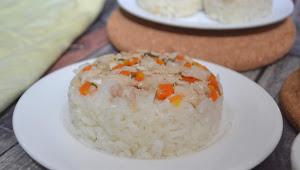 Resep Nasi Tim Ayam Wortel