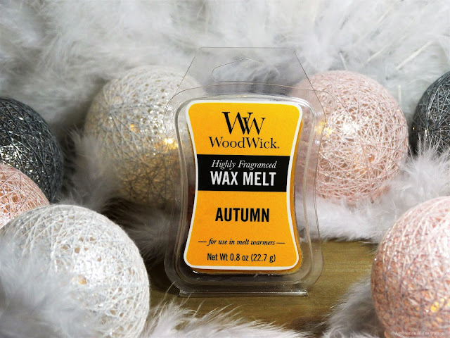 Avis Autumn de Woodwick, blog bougie, blog parfum