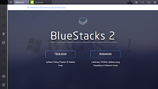 Bluestacks Emulator Komputer for Android