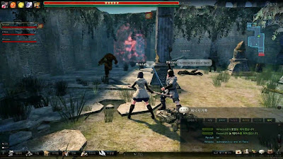 Vindictus gameplay
