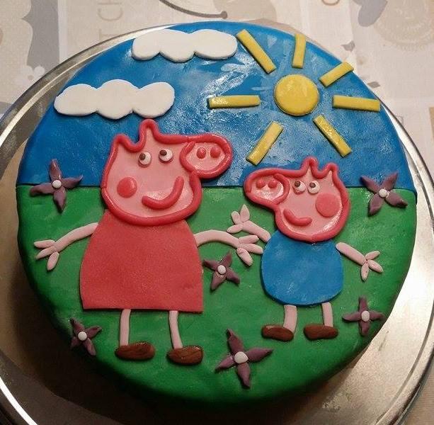 Geburtstagstorte Mit Kinderriegel Tortencreme Mamizauber