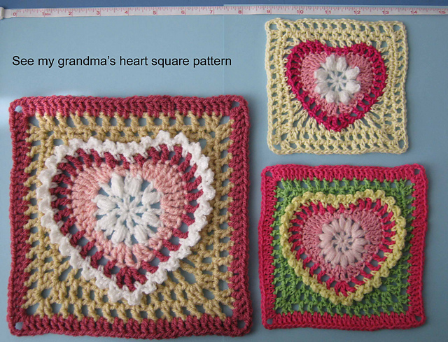 Ergahandmade crochet heart diagram free pattern step by step crochet heart diagram free pattern step by step ccuart Images