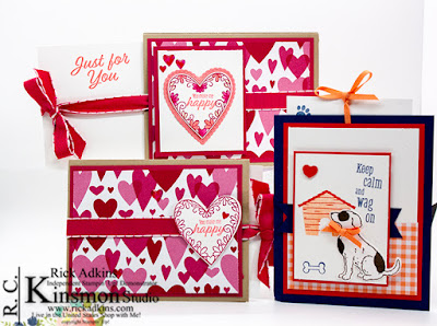Meant to Be Bundle, Happy Tails Bundle, All My Love DSP, Stampin' Up!, Rick Adkins