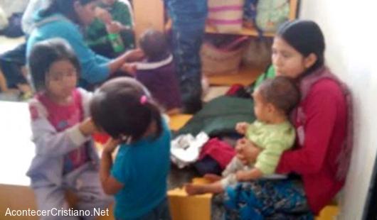 Desplazados por intolerancia religiosa en México