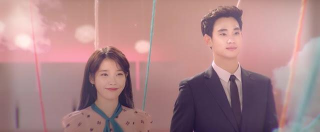 "IU နဲ႔ Hallyu ၾကယ္ပြင့္ Kim Soo Hyun တို႔ရဲ႕ ""Ending Scene"" သီခ်င္းဗီဒီယိုထြက္ရွိလာ"