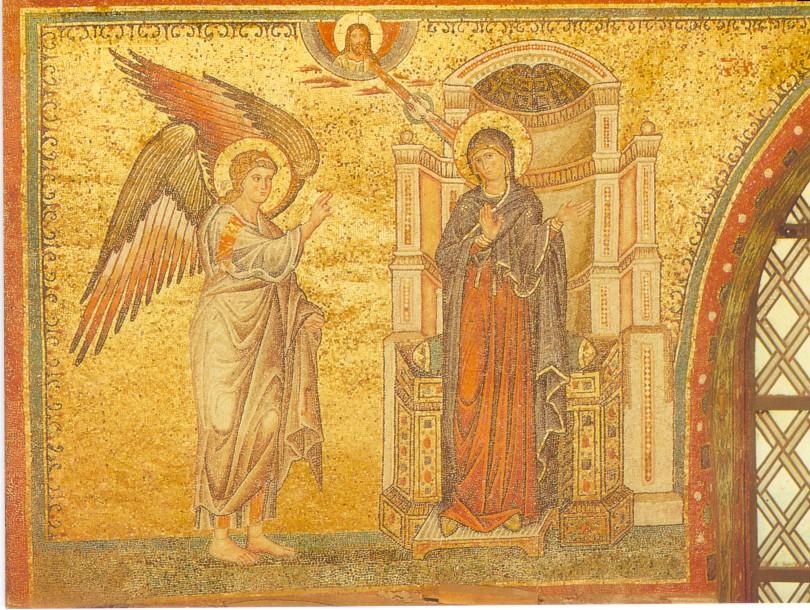 The Annunciation In Early Christian Art | MYSTAGOGY ...