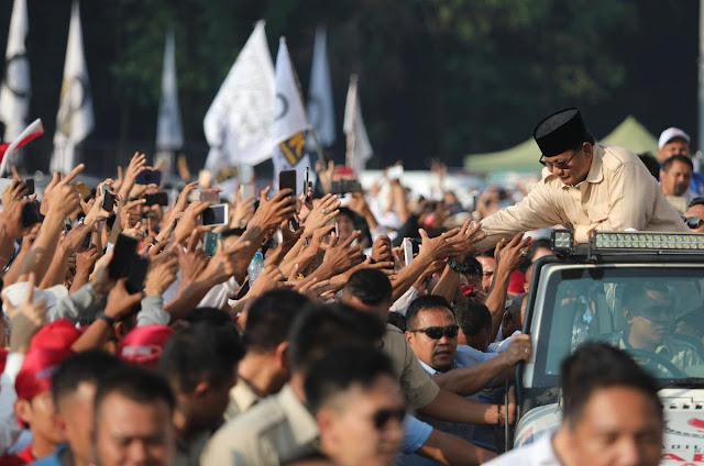 "Kerap Diejek Soal ""Bocor"" Anggaran, Prabowo: 3 Hari Lalu KPK Mengatakan Bocor 2000 Triliun"