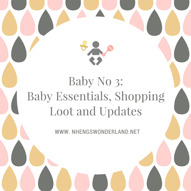 Baby No 3: Baby Essentials, Shopping Loot and Updates