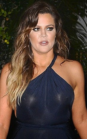 Oh my! Who knew Khloe K's dress to French's birthday party ...