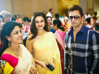 Jagapathi babu's daughter Meghana wedding