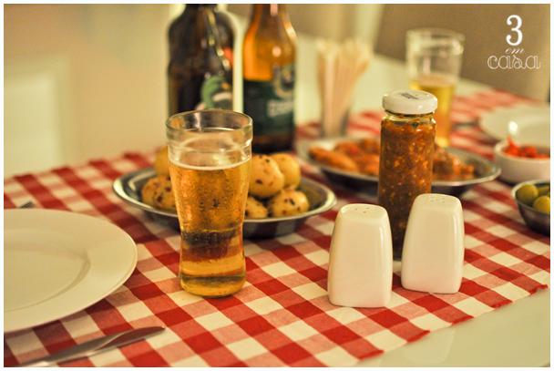mesa posta boteco