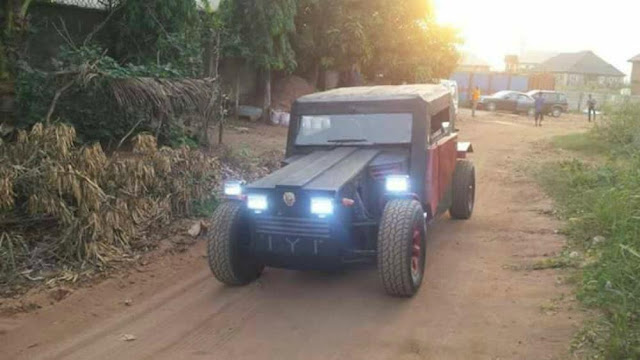 Imo State Mechanic Builds Own Car