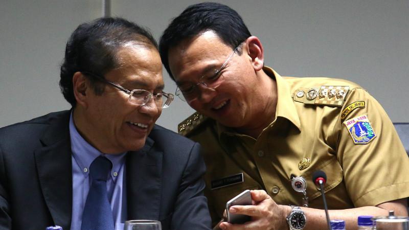 Rizal Ramli dan Ahok berseteru soal Pulau G reklamasi Teluk Jakarta