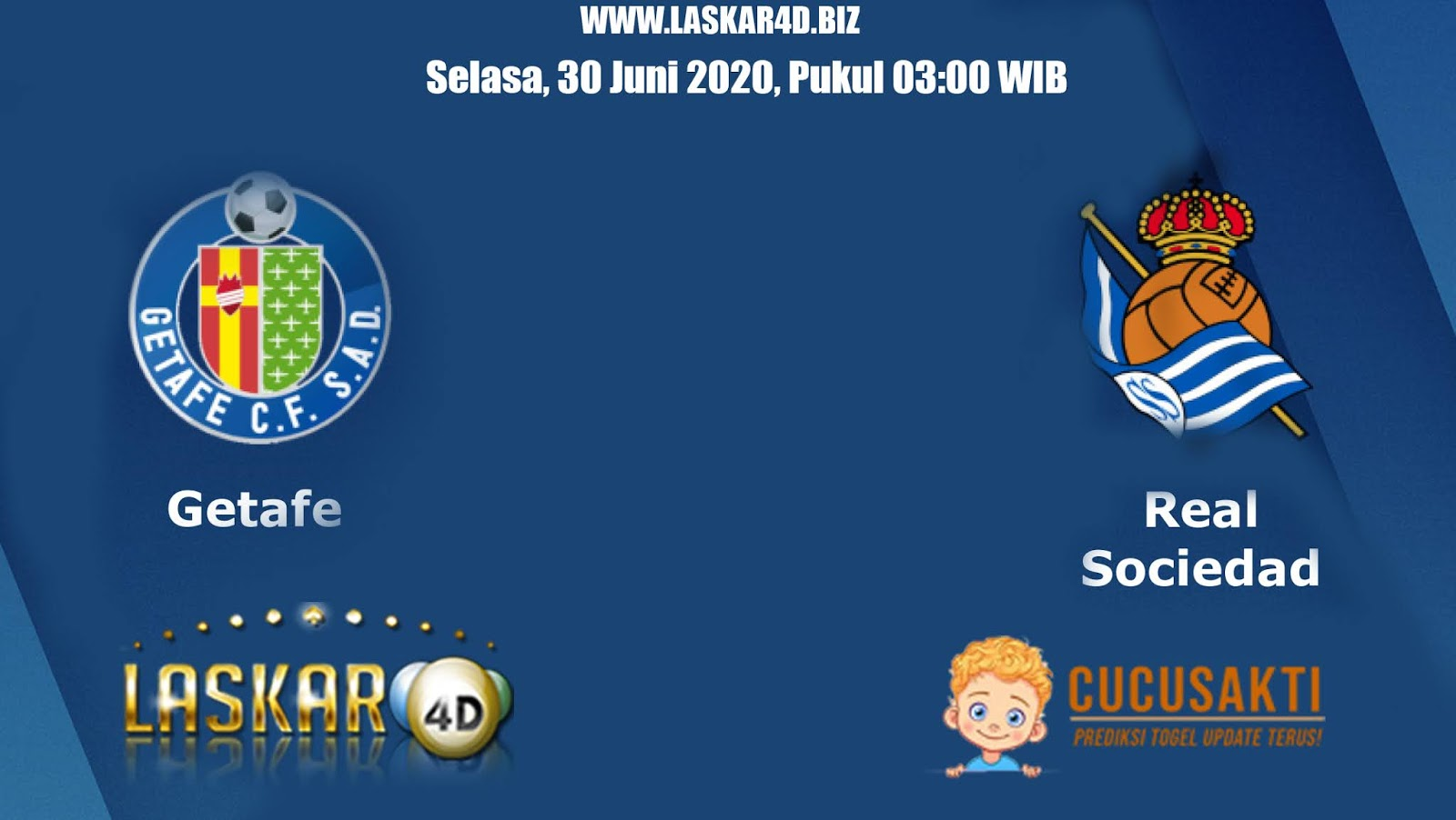 Prediksi Bola Getafe vs Real Sociedad Selasa 30 Juni 2020