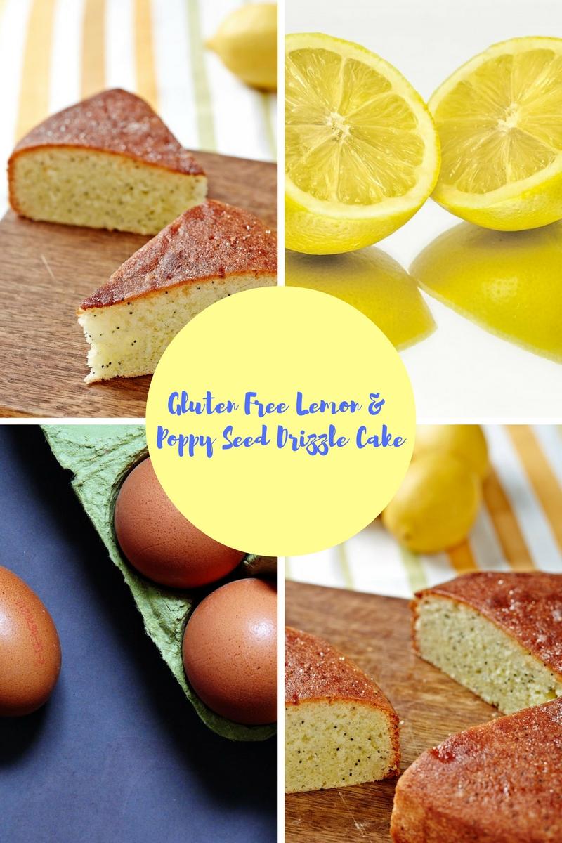 Gluten Free Lemon & Poppy Seed Drizzle Cake