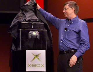 Bill Gates CES 2001 reveals Microsoft original Xbox