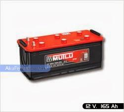 mutlu akü ağır hizmet serisi 12 volt 165 amper