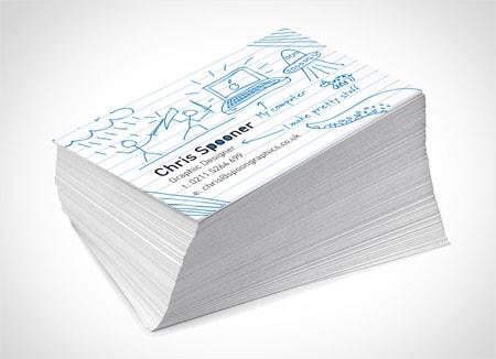 Thiết kế Card visit name card design online giống như đã được in và chụp lại