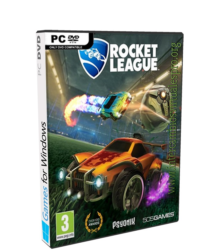Rocket League Triton poster box cover