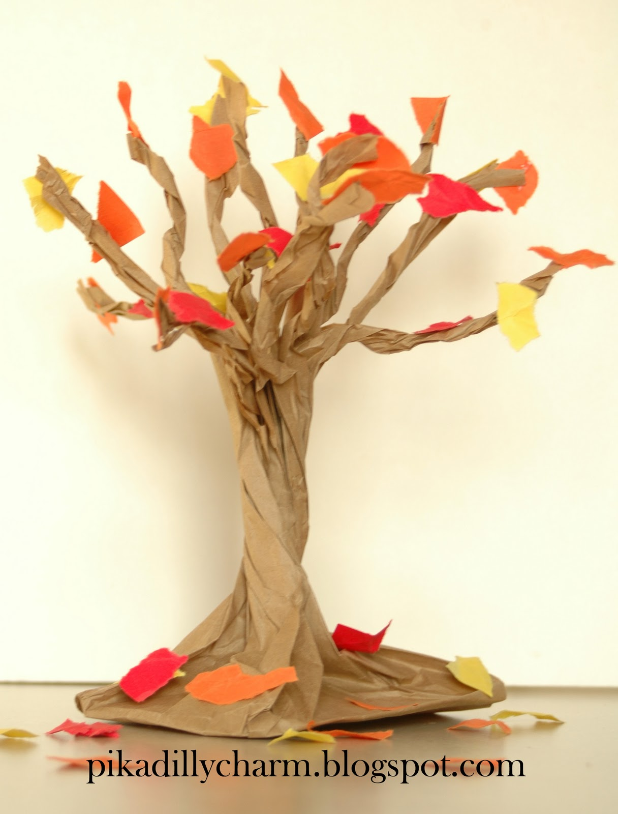 Autumn Decoration From Paper Ideas