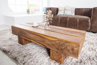 Masivní stolek vhodní do obývacího pokoje Reaction.