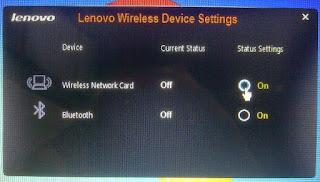 Cara Memperbaiki wireless Lenovo G40-70 Tidak Bisa Koneksi Internet