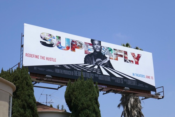 Superfly 2018 remake billboard