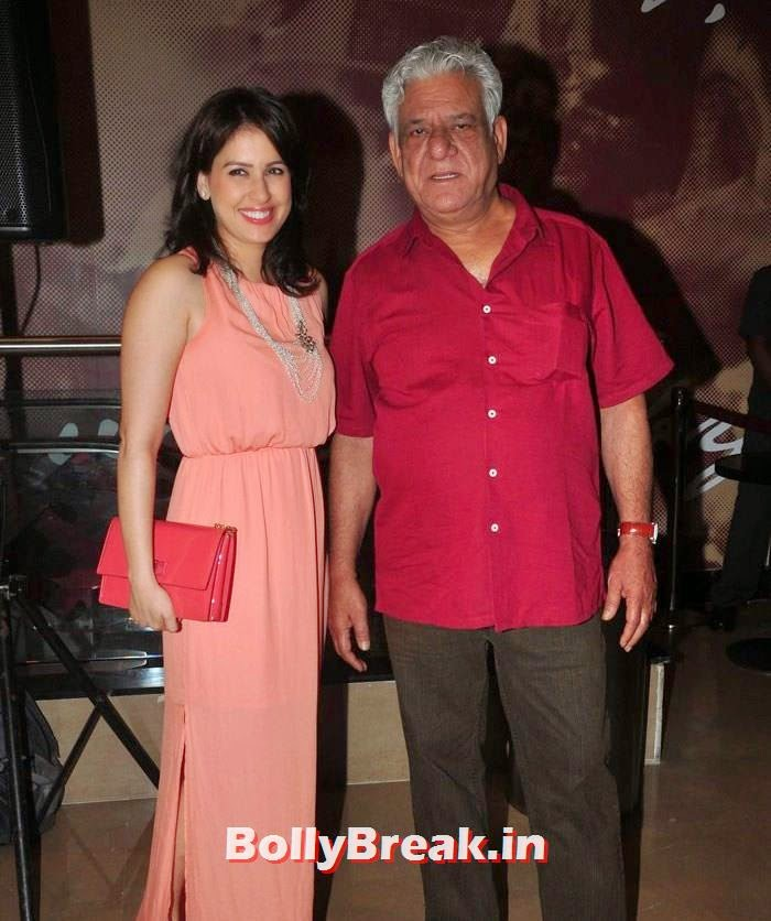 Amrita Raichand, Om Puri, 'The Hundred-Foot Journey' Movie Special Screening
