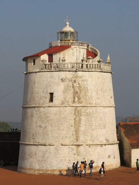 Fort Aguada, Sinquerim, Goa, India.