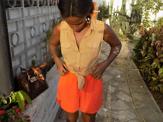 FashionDRA| Lookbook : 03 shorts 03 tenues différentes
