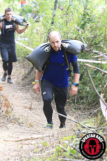 Spartan Race Sand Bag Carry