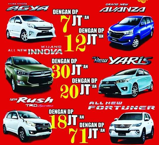 Promo Toyota Pondok Aren Tangerang