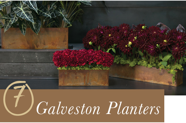 Accent Decor Bestseller: Galveston Planters