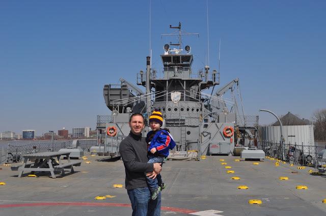 Evansville, IN: USS LST Ship Memorial