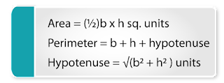 mensuration formulas