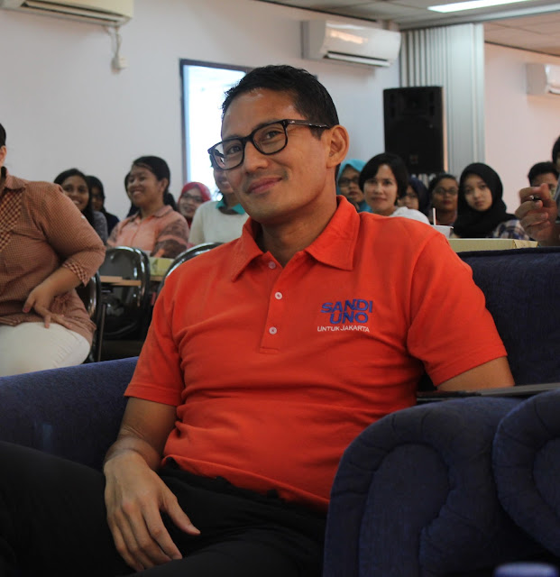 Image result for blogger sandiaga uno