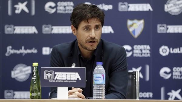 """Víctor Sánchez - Málaga -: """"No nos quedamos satisfechos con un punto"""""""