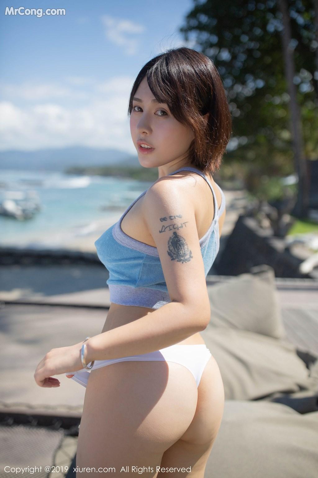 Image XIUREN-No.1612-Evelyn-Ai-Li-MrCong.com-002 in post XIUREN No.1612: Evelyn (艾莉) (91 ảnh)
