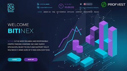 BiTinex: обзор и отзывы о bitinex.biz (HYIP СКАМ)