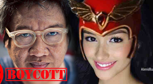 Netizens call for boycott of Erik Matti upcoming movie Darna due to his anti-Duterte remark