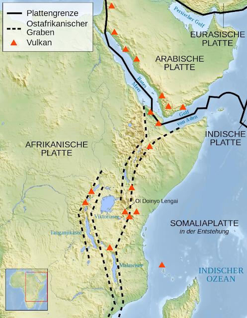 Großer Afrikanischer Grabenbruch, Wikipedia (c) Sémhur