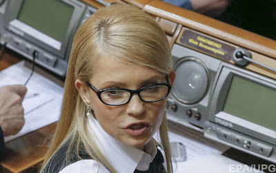 Згідно з декларацією, автомобіля у Тимошенко немає. Однак члени сім'ї мають Mercedes GL 350, ГАЗ 14 Чайка і CDL.