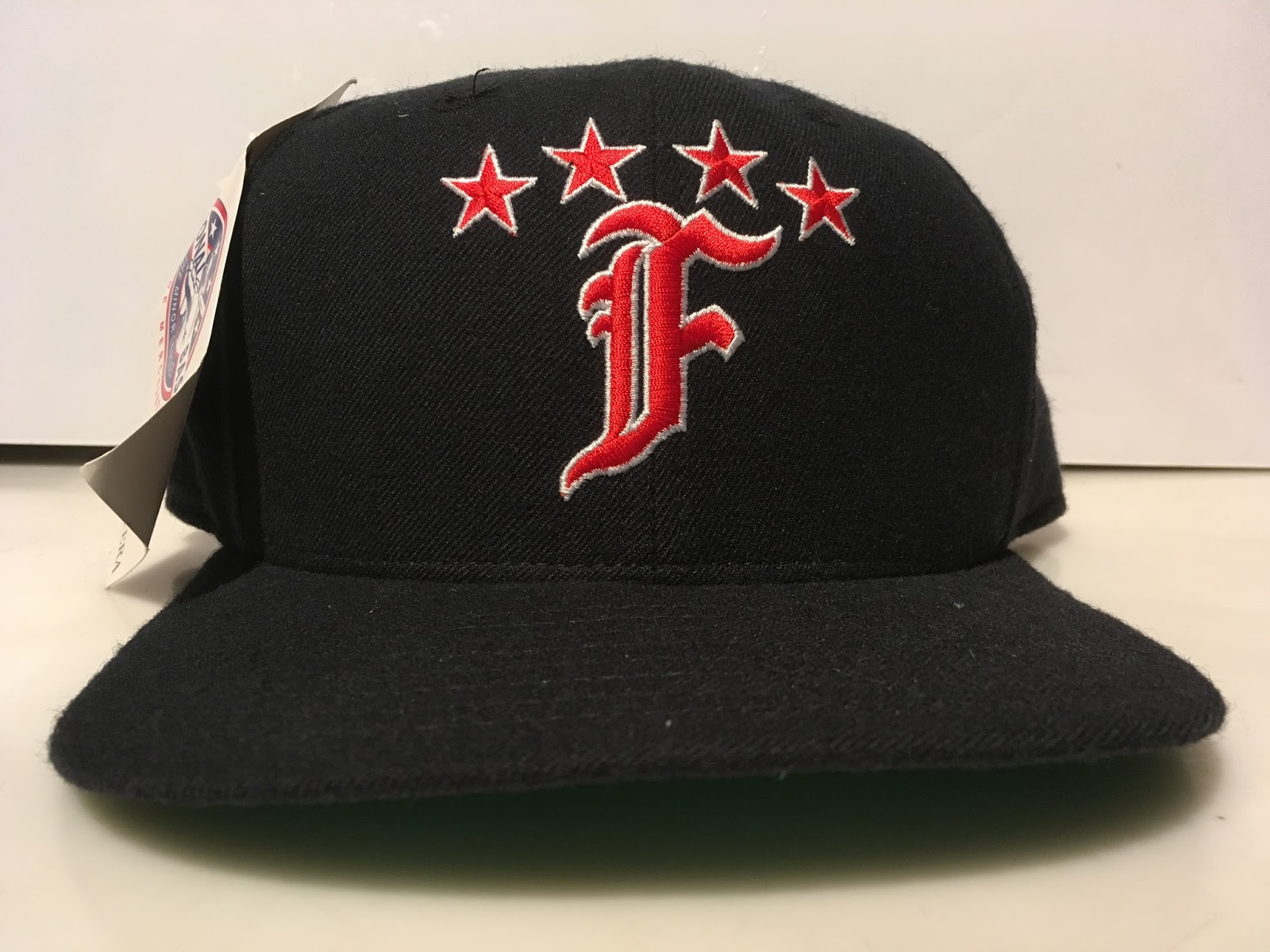 b108c843 The Fayetteville Generals were in existence from 1986-1996 and this is the  cap logo they rocked for the majority of that time. I'm not a Detroit  Tigers fan ...